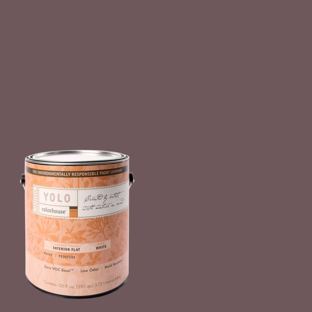 YOLO Colorhouse 1-gal. Wood .05 Flat Interior Paint-DISCONTINUED