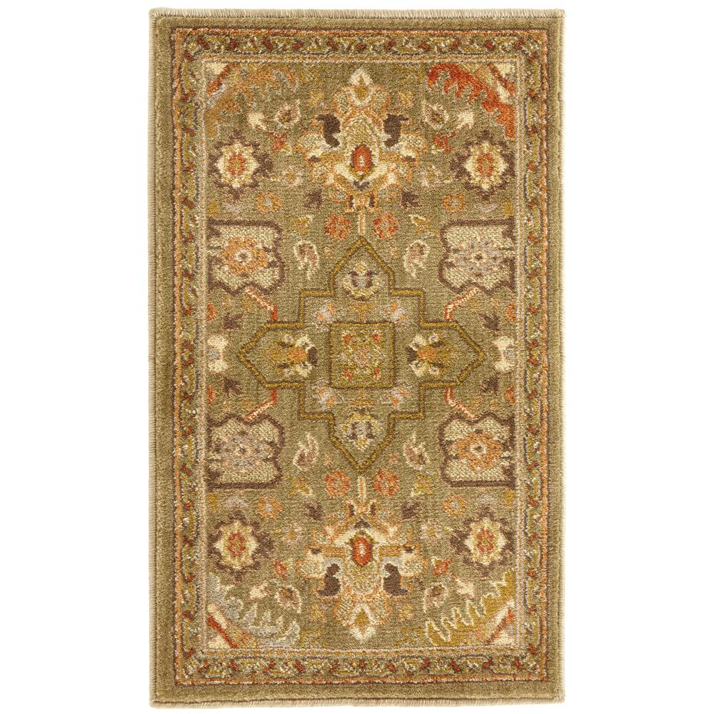 Grayson Green 1 ft. 10 in. x 3 ft. Accent Rug