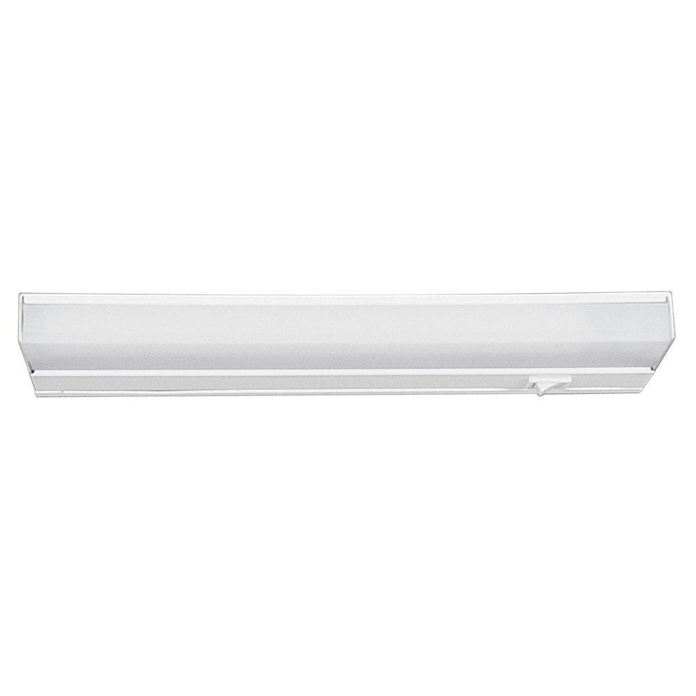 Filament Design Under Cabinet Lighting Pribil 12.25 in. LED White Under Cabinet Light CLI-SS382177