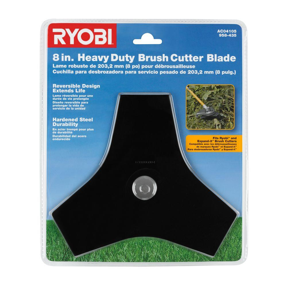 Ryobi Tri-Arc Brush Cutter Blade and Expand-It Brands