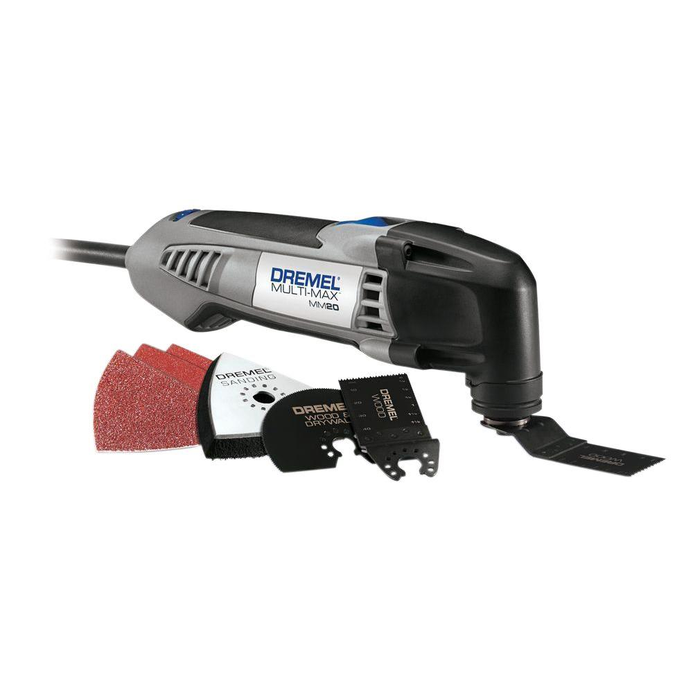 Multi-Max 2.3 Amp Corded Variable Speed Oscillating Multi-Tool Kit with 7