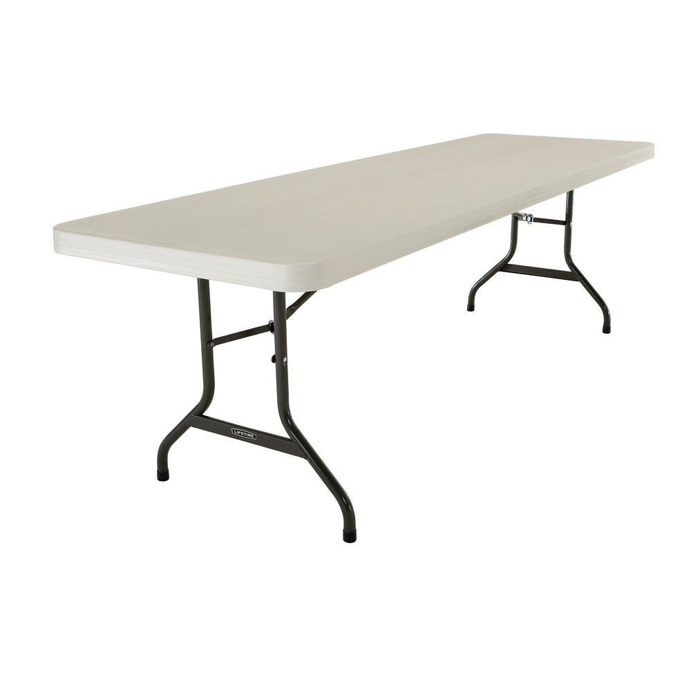 Lifetime Almond (Brown) 8 ft. Folding Table