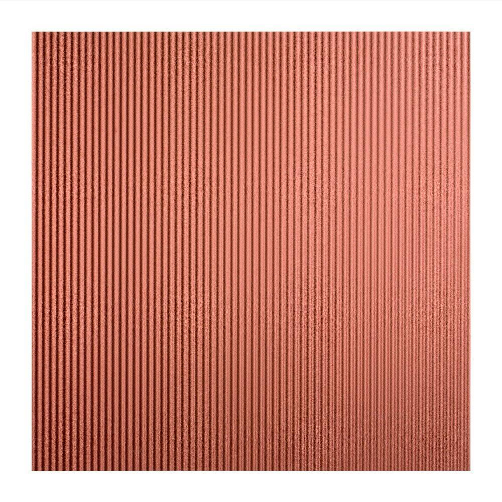 Rib - 2 ft. x 2 ft. Lay-in Ceiling Tile in