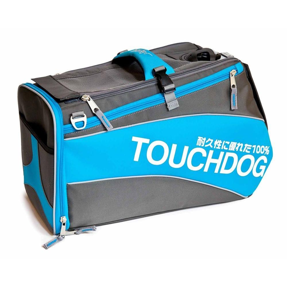 Touchdog Modern-Glide Airline Approved Water-Resistant Dog Carrier-B81BLLG - The