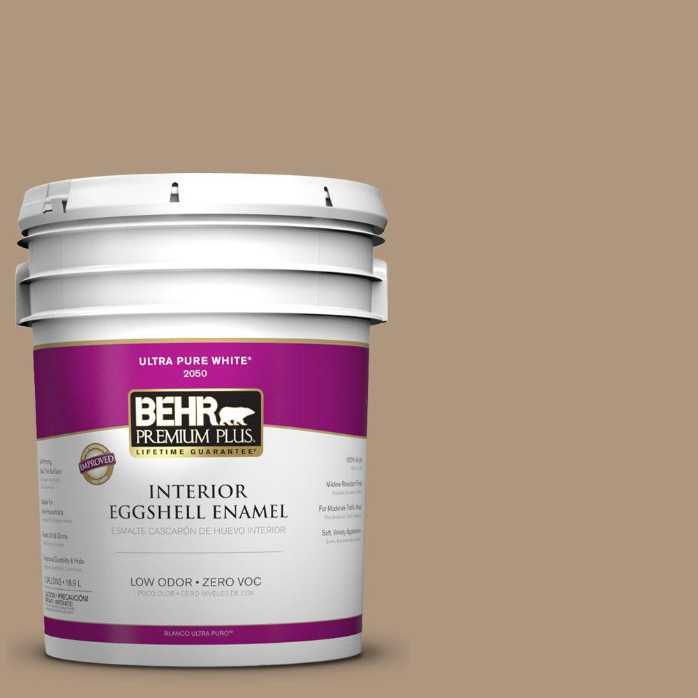 BEHR Premium Plus Home Decorators Collection 5-gal. #HDC-WR14-3 Roasted Hazelnut Eggshell Enamel Interior Paint - DISCONTINUED