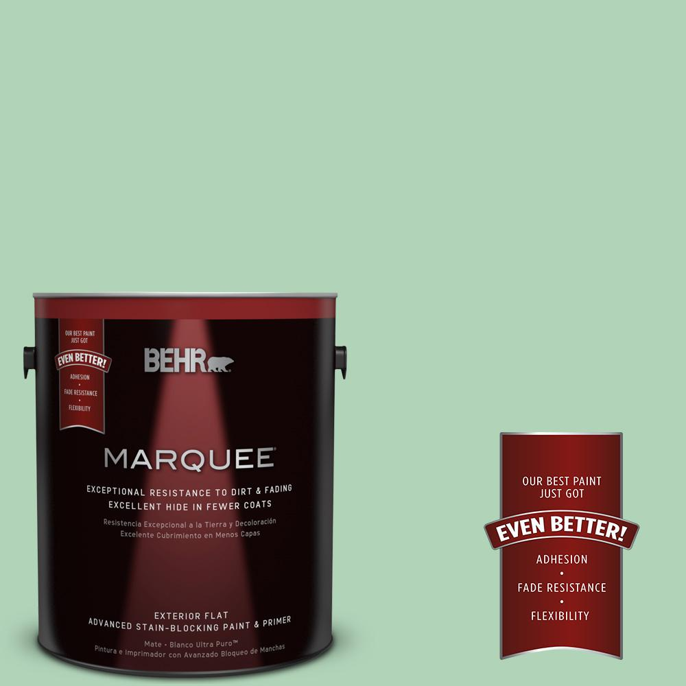 BEHR MARQUEE 1-gal. #M410-3 Enchanted Meadow Flat Exterior Paint-445401 - The