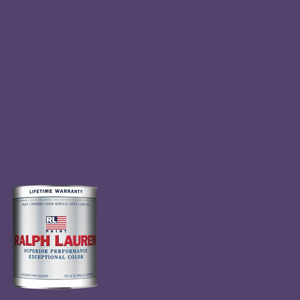 Ralph Lauren 1-qt. Academy Purple Hi-Gloss Interior Paint