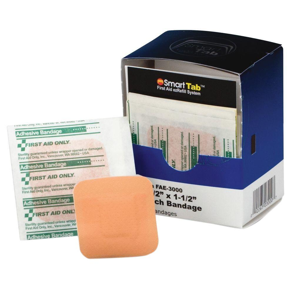 First Aid Only Patch Bandages (10 per Box)-FAOFAE3000 - The Home