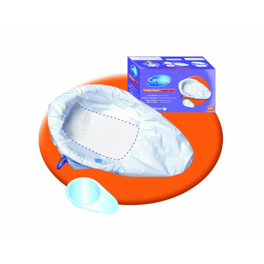 null Bedpan Liner with Absorbent Pad (20 Count)
