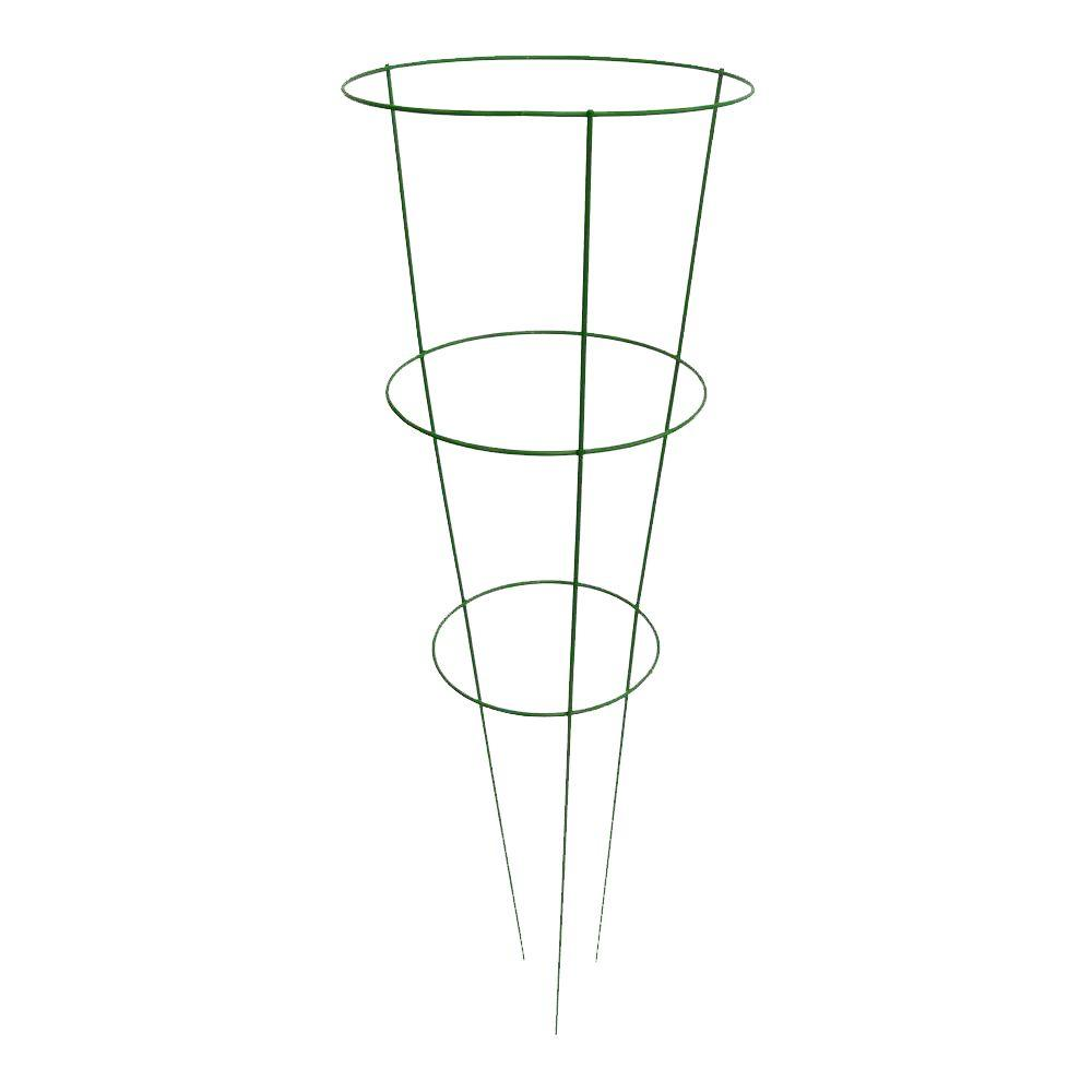 Glamos Wire Products 14 in. x 42 in. Light Green Tomato Plant Support (5 Pack)