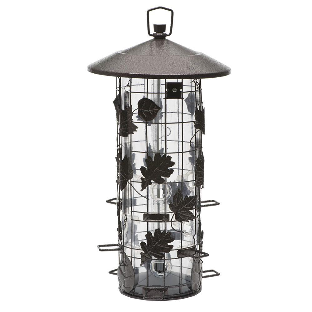 Perky-Pet Squirrel-Be-Gone Triple-Tube Bird Feeder