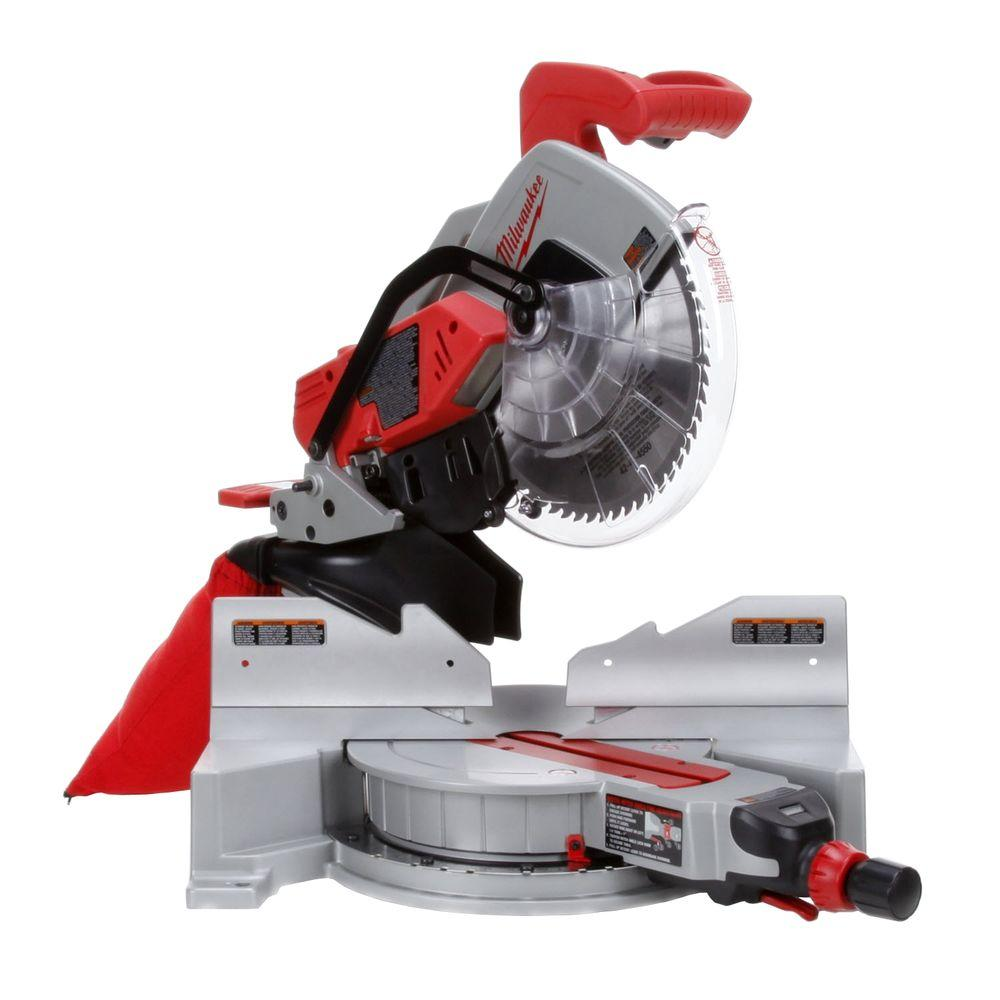 Milwaukee 12 in. Dual Bevel Miter Saw