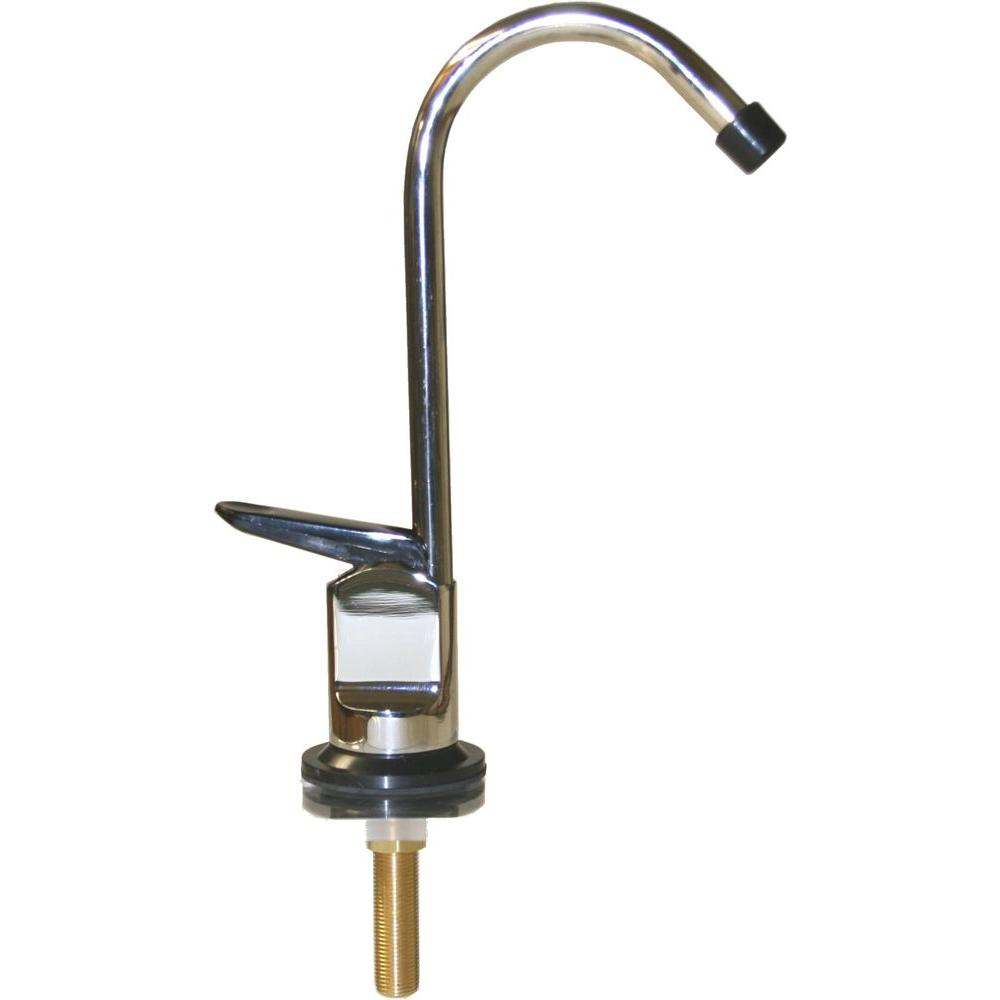 null Water Filter Dispenser Faucet with Metal Body in Chrome Finish