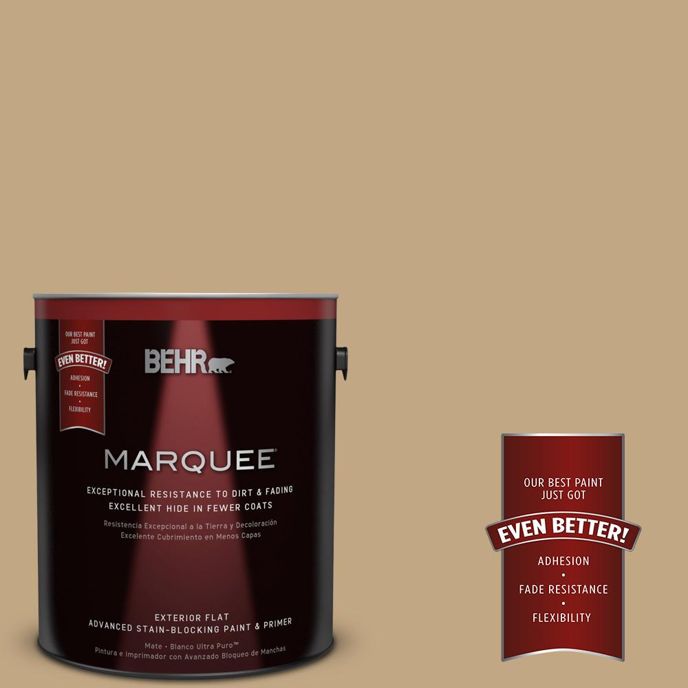 BEHR MARQUEE 1-gal. #N290-5 Pocket Watch Flat Exterior Paint