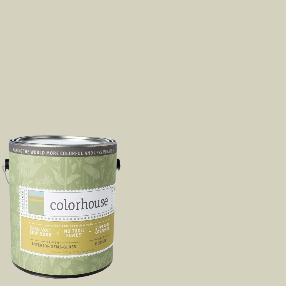Colorhouse 1-gal. Nourish .01 Semi-Gloss Interior Paint-483514 - The Home Depot