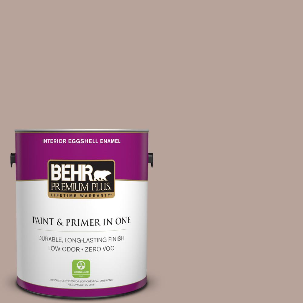 1-gal. #N150-3 Cocoa Craving Eggshell Enamel Interior Paint