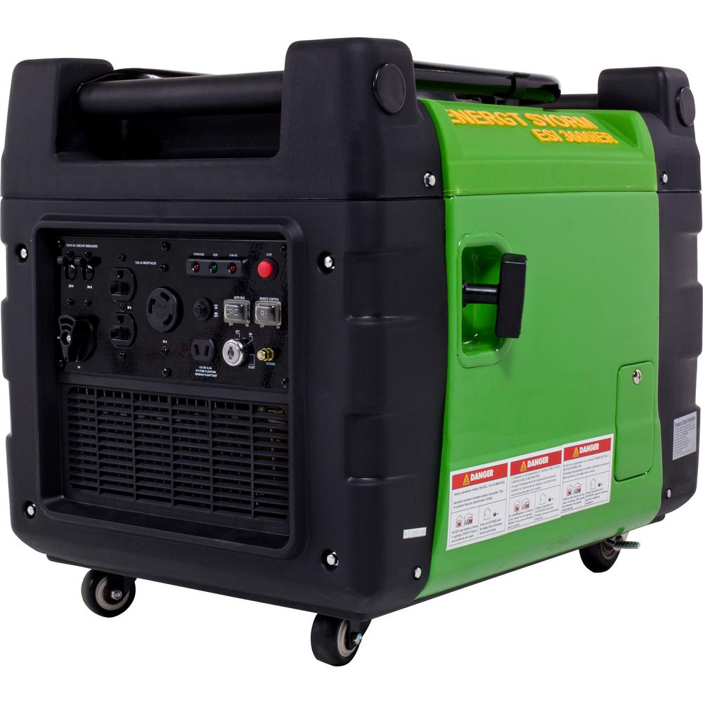 LIFAN Energy Storm 3,500-Watt 270cc Gasoline Powered Electric Start Inverter Generator with Remote