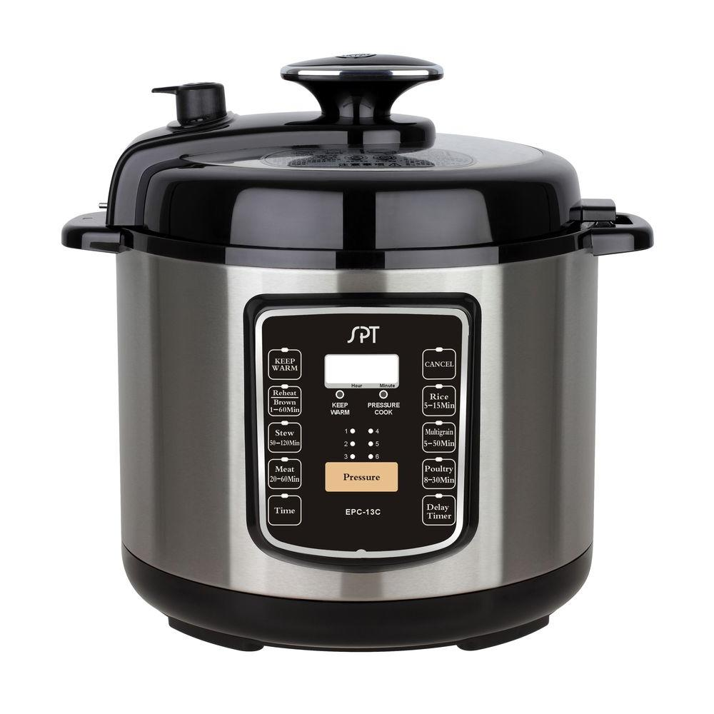 6.5 Qt. Stainless Steel Electric Pressure Cooker