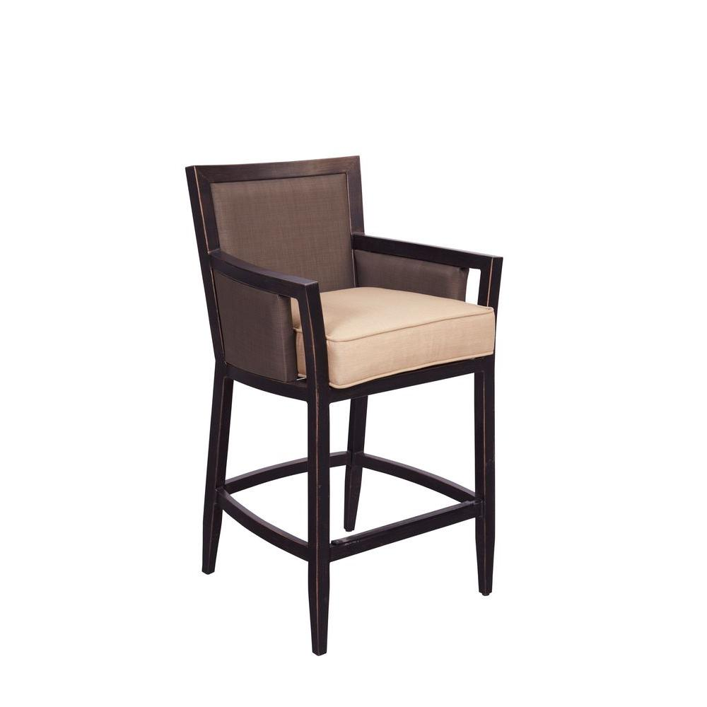 Greystone Patio High Dining Chair in Harvest (2-Pack) -- CUSTOM