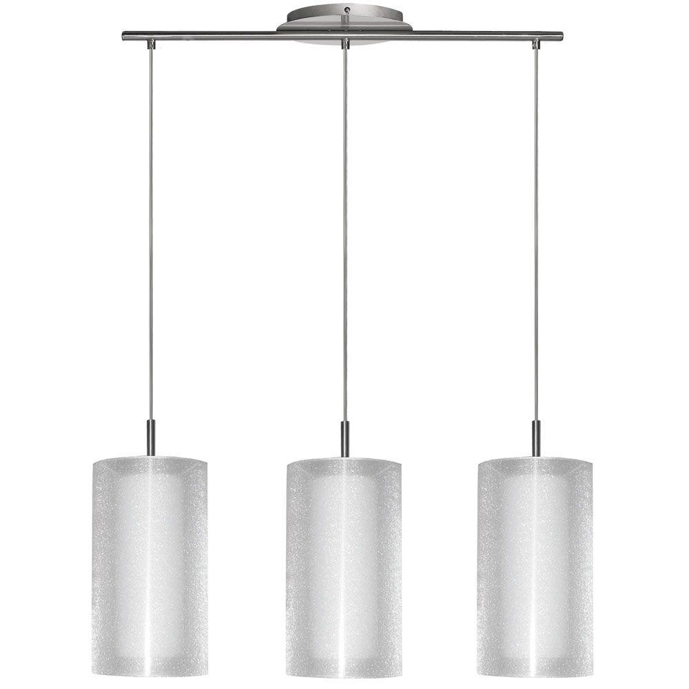 Filament Design Cathrine 1 Light 12 in. Satin Chrome Pendant-DISCONTINUED