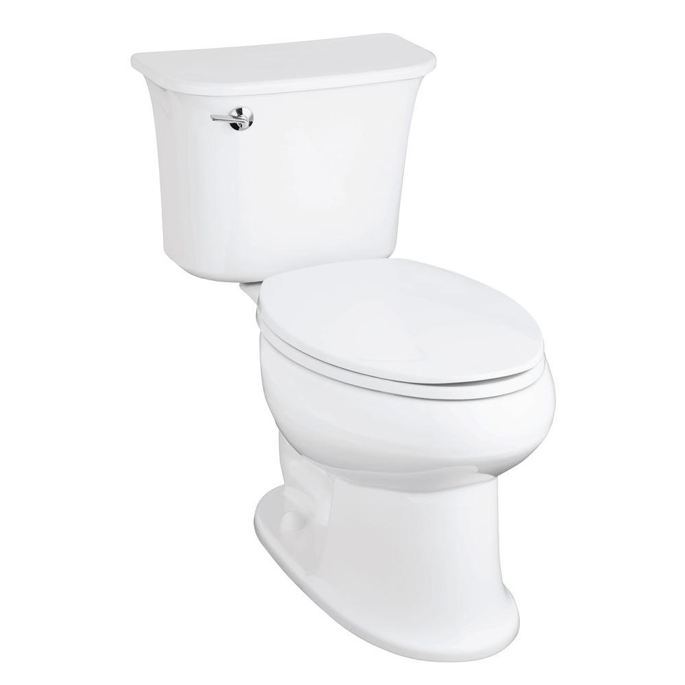 STERLING Stinson 2-piece 1.6 GPF Single Flush Elongated Toilet in