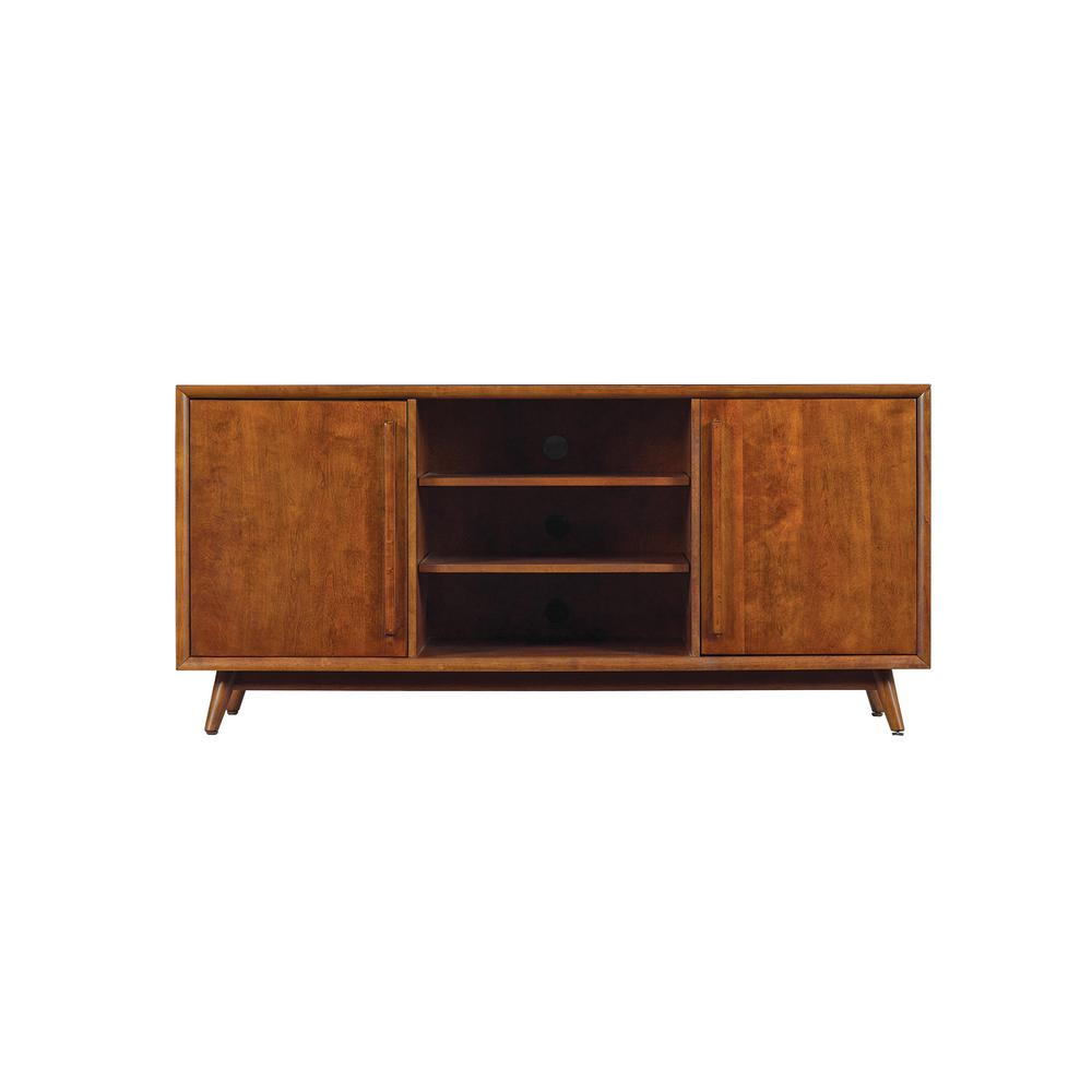 Leawood TV Stand for 60 in. TVs in Mahogany Cherry
