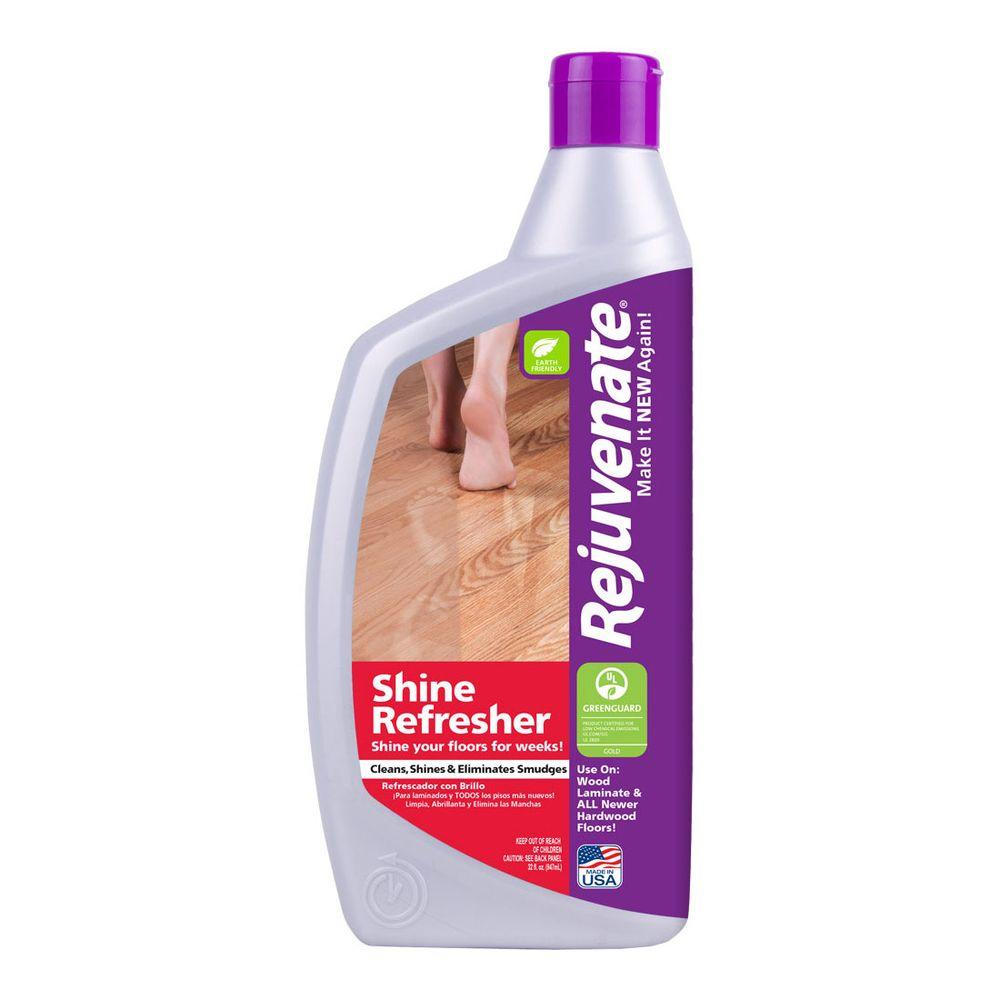 Rejuvenate 32 oz floor refresher rjrf32rtu the home depot Rejuvenate wood floor