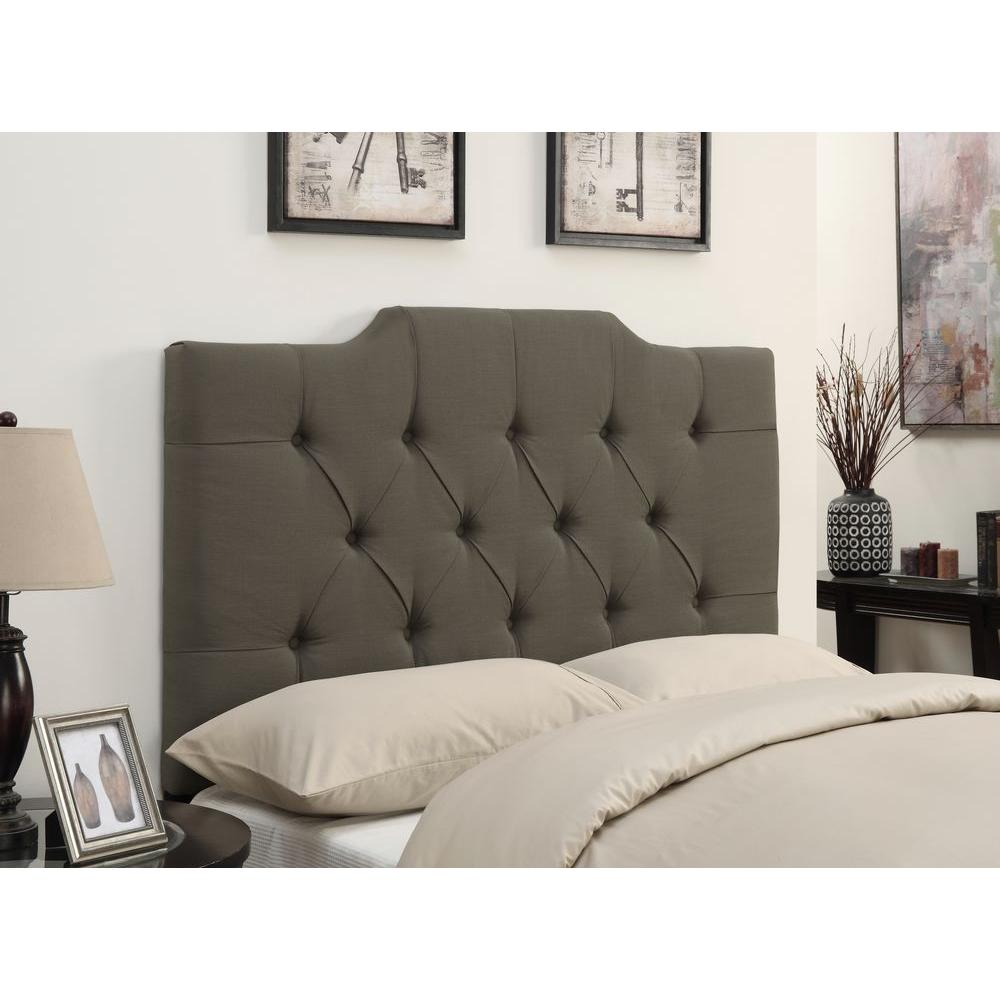 Pulaski Furniture Upholstered Full/Queen Headboard in Taupe-DS-D014-250-373 -
