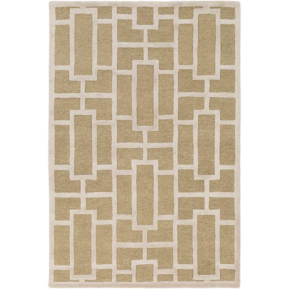 Arise Addison Tan 6 ft. x 9 ft. Indoor Area Rug