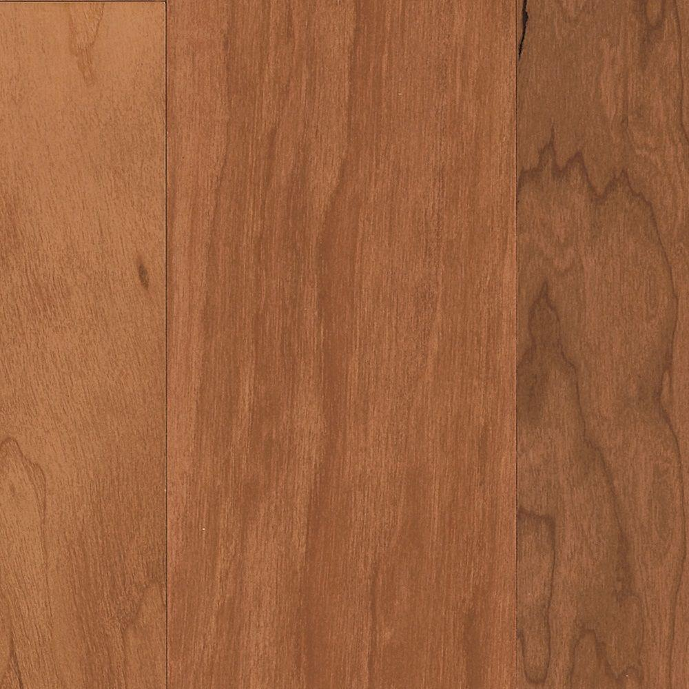 Cherry Honey Blush Performance Hardwood Flooring - 5 in. x 7 in. Take Home Sample