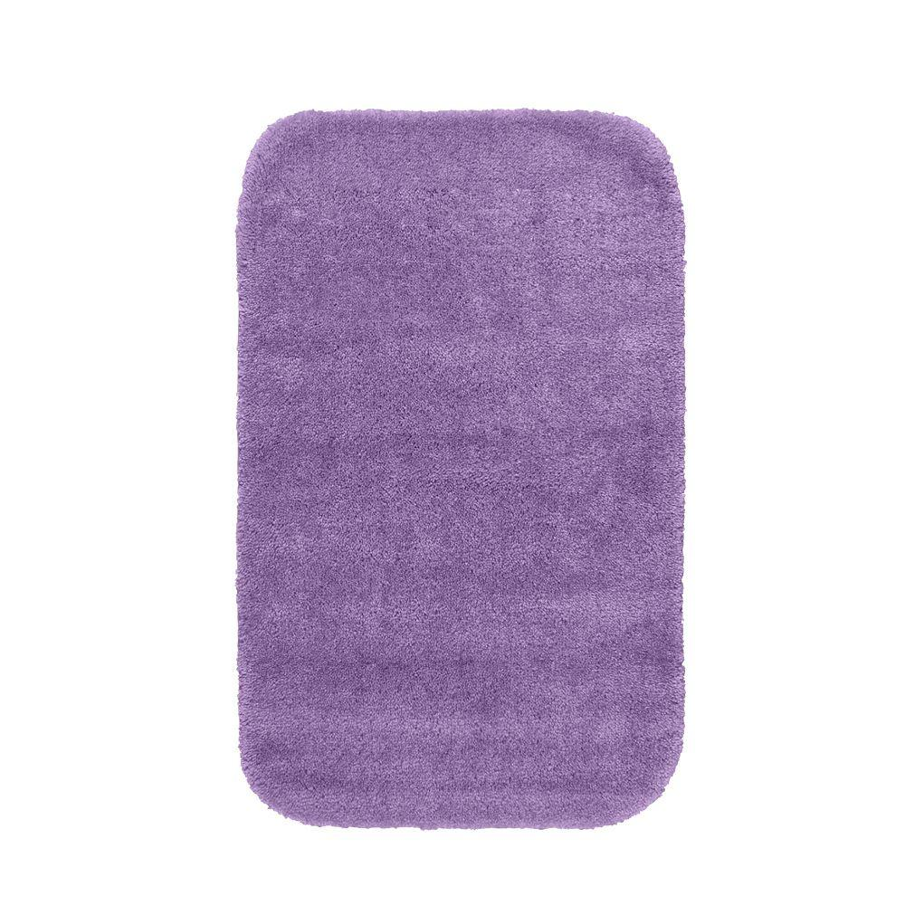Garland rug traditional purple 24 in x 40 in washable for Rugs with purple accents