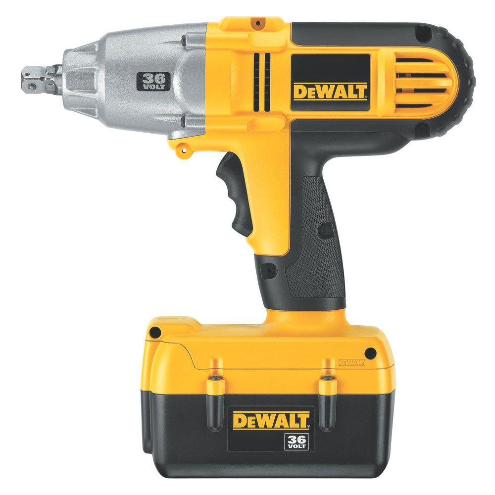 DEWALT 36-Volt Lithium-Ion 1/2 in. Cordless Impact Wrench Kit