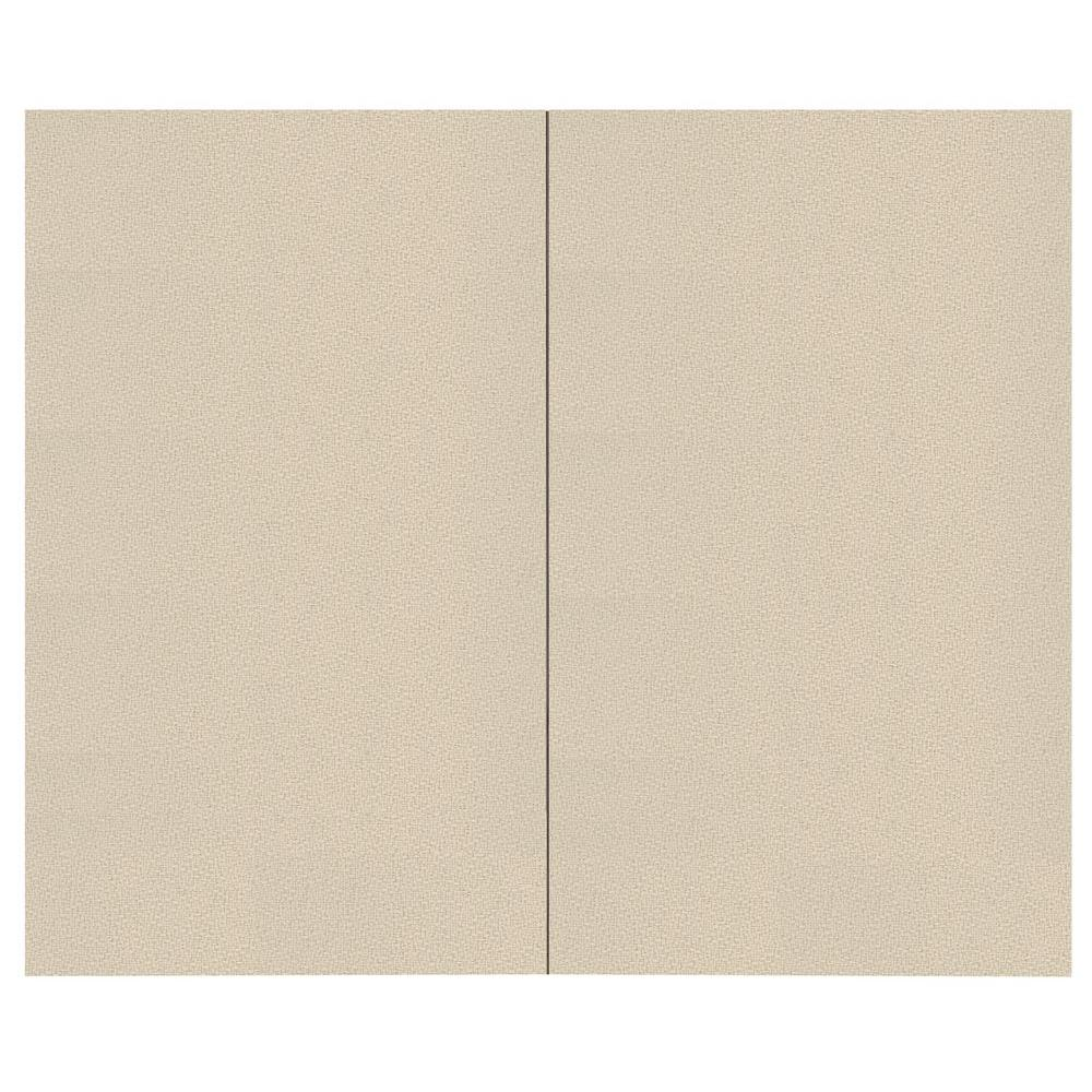 SoftWall Finishing Systems 44 sq. ft. Birch Fabric Covered Top Kit Wall Panel