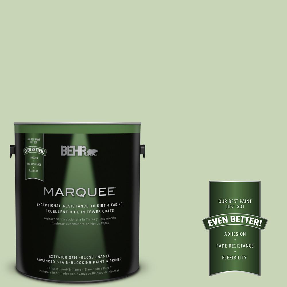BEHR MARQUEE 1-gal. #M370-3 Spice Garden Semi-Gloss Enamel Exterior Paint
