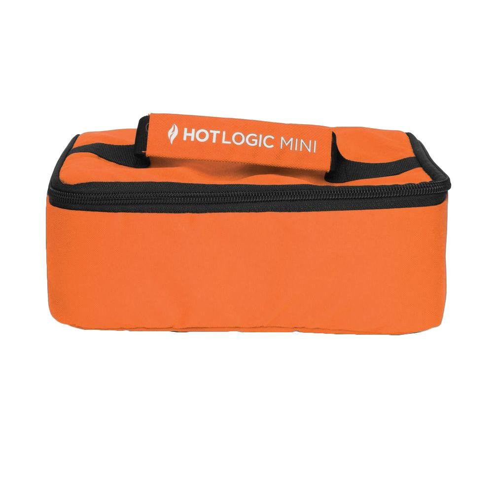 null Hot-Logic Mini Personal Portable Oven in Orange