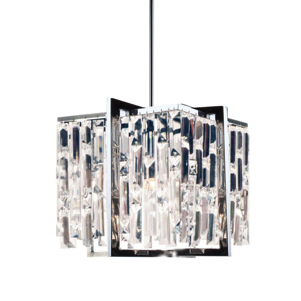 Radionic Hi Tech Alero 4-Light 12 in. Polished Chrome Chandelier
