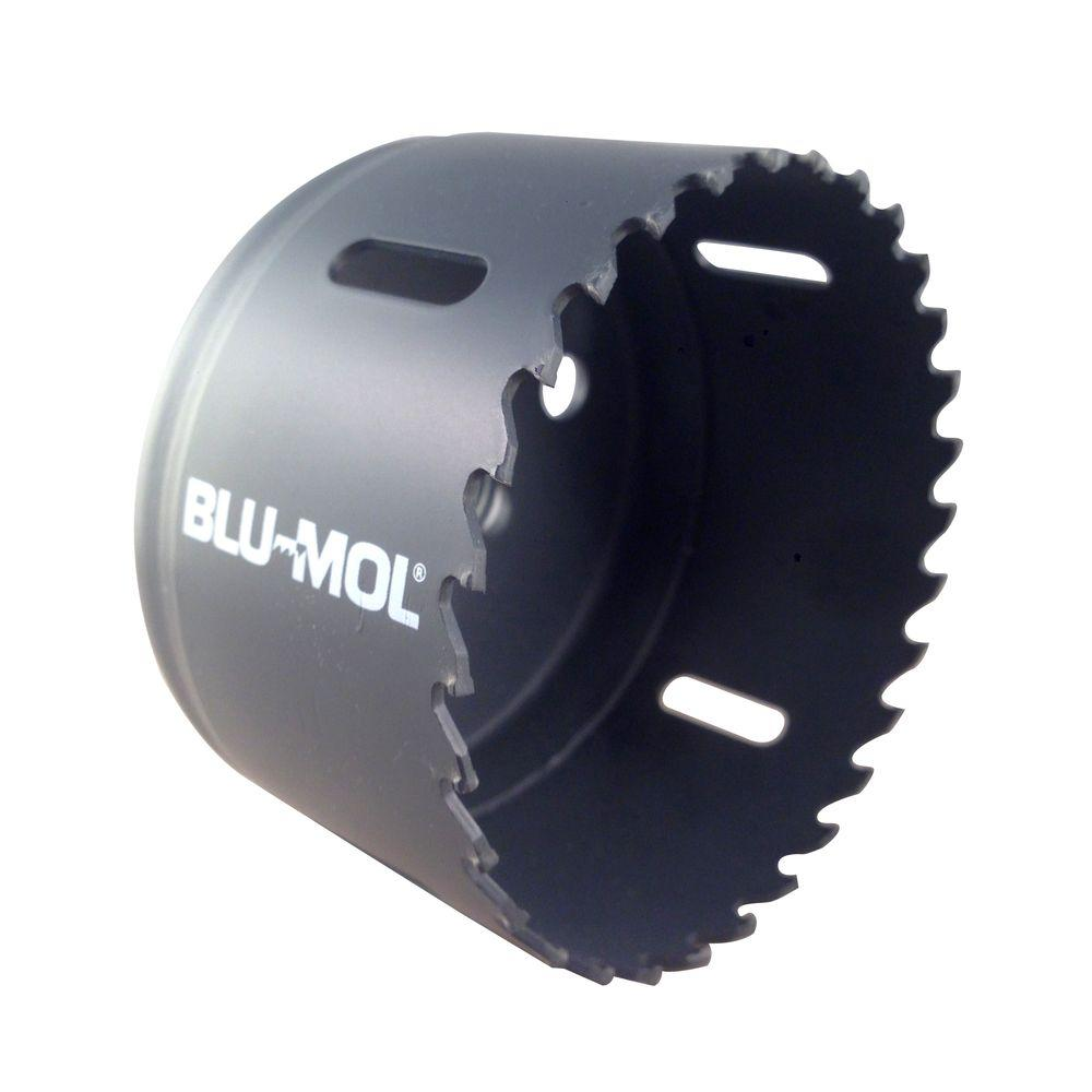 BLU-MOL 3-1/4 in. Xtreme Carbide Tipped Hole Saw-C52 - The Home
