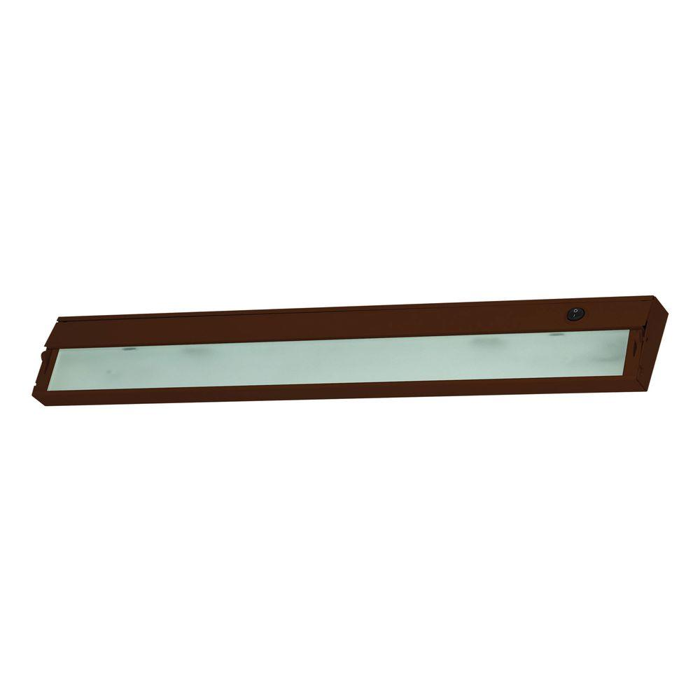 Aurora 4-Light Bronze Under Cabinet Light-TN-60315 - The Home Depot