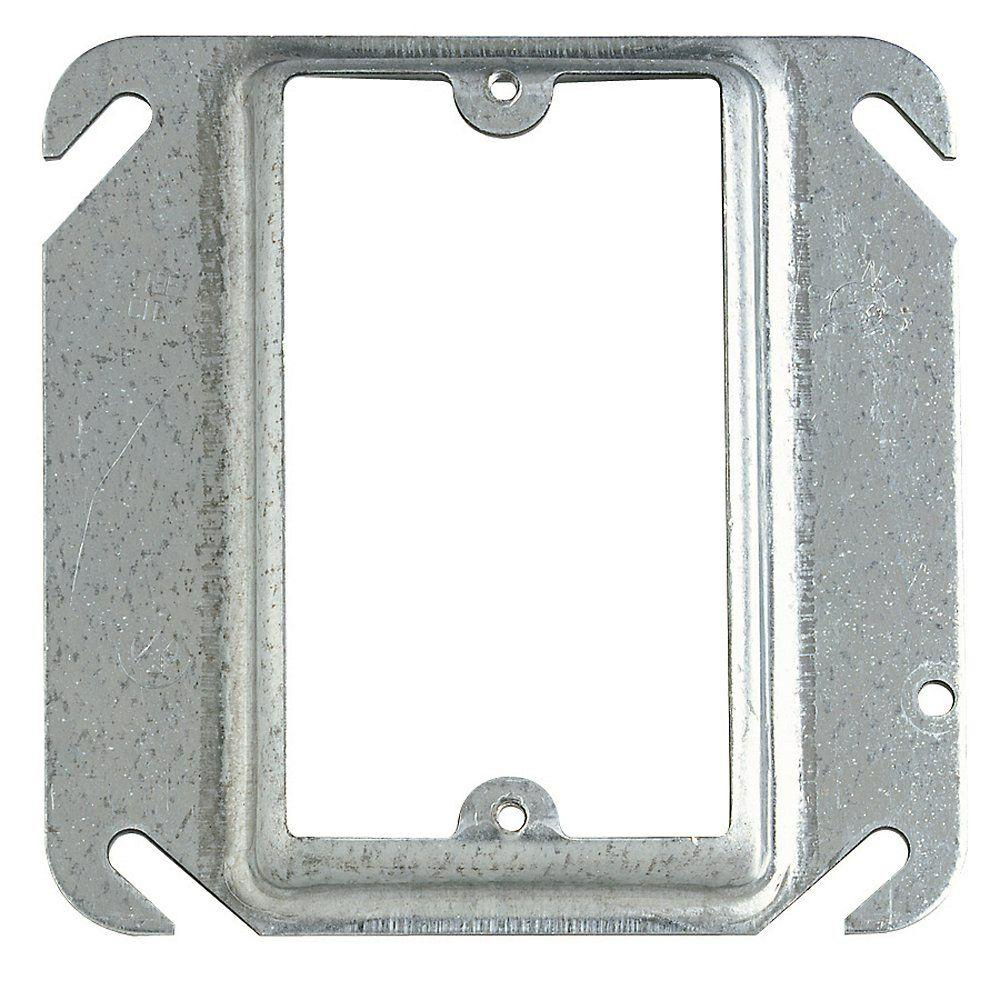 1-Gang Square Mud Ring (Case of 50)