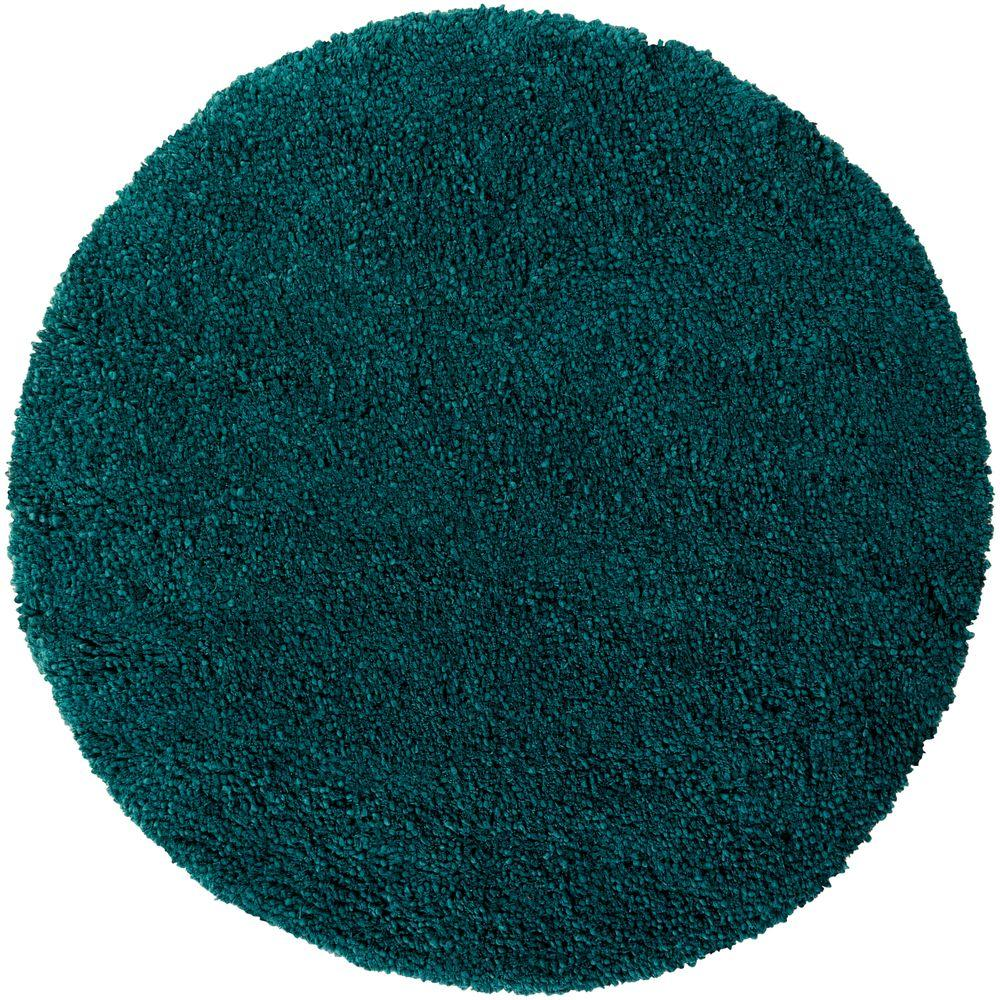 Artistic Weavers Galway Teal 8 Ft. X 8 Ft. Round Indoor