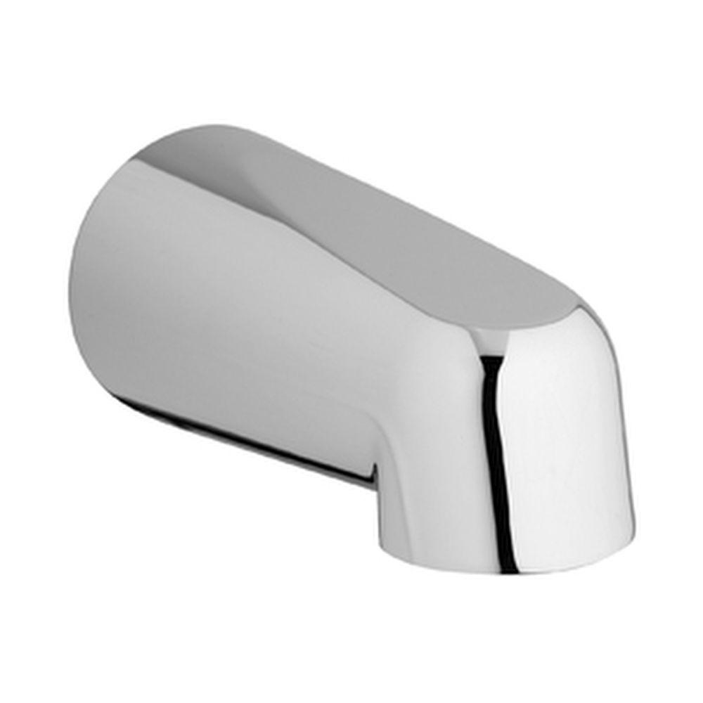 GROHE 5 in. Non-Inverting Wall-Mounted Tub Spout in Chrome