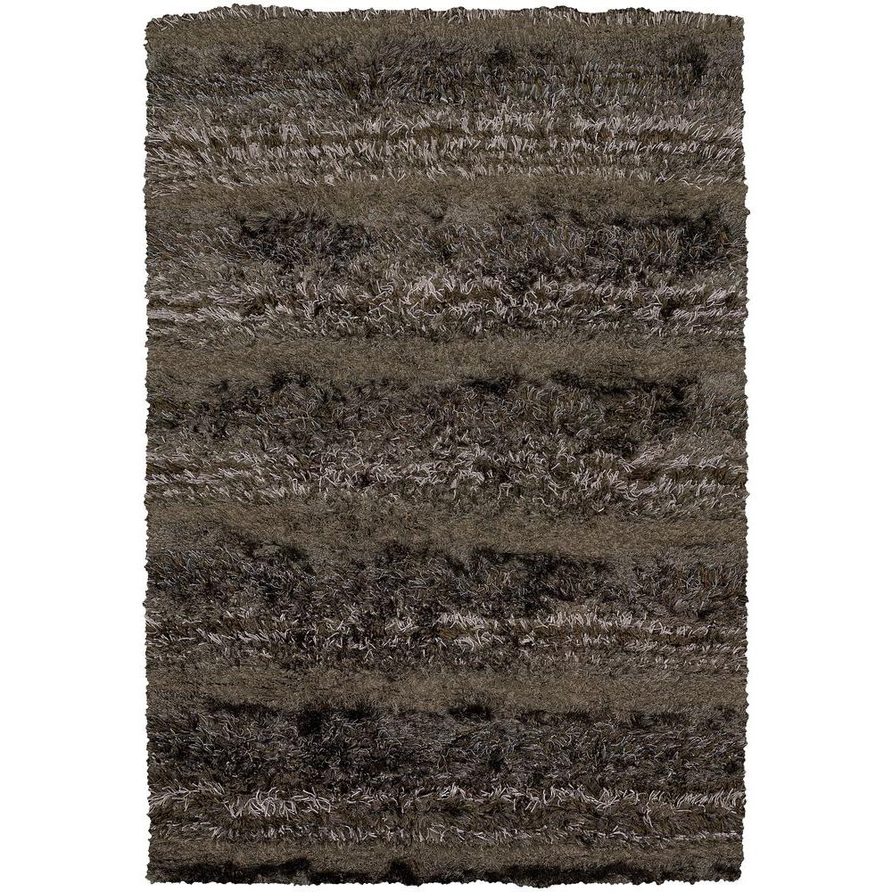 Kapaa Brown/Tan/Taupe 5 ft. x 7 ft. 6 in. Indoor Area