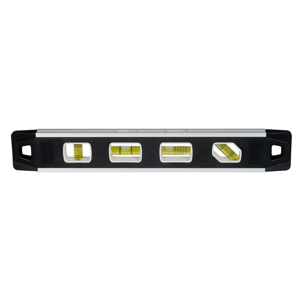 Husky 10 in. Magnetic Torpedo Level and Magnetic Post ...