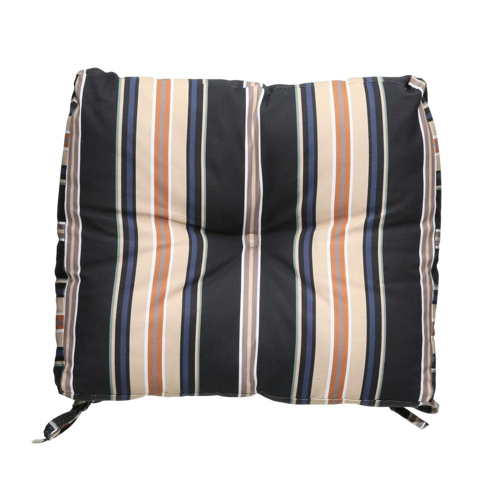 Sky Stripe Outdoor Seat Cushion
