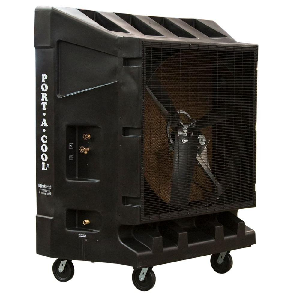20000 CFM 2-Speed Portable Evaporative Cooler for 4000 sq. ft.