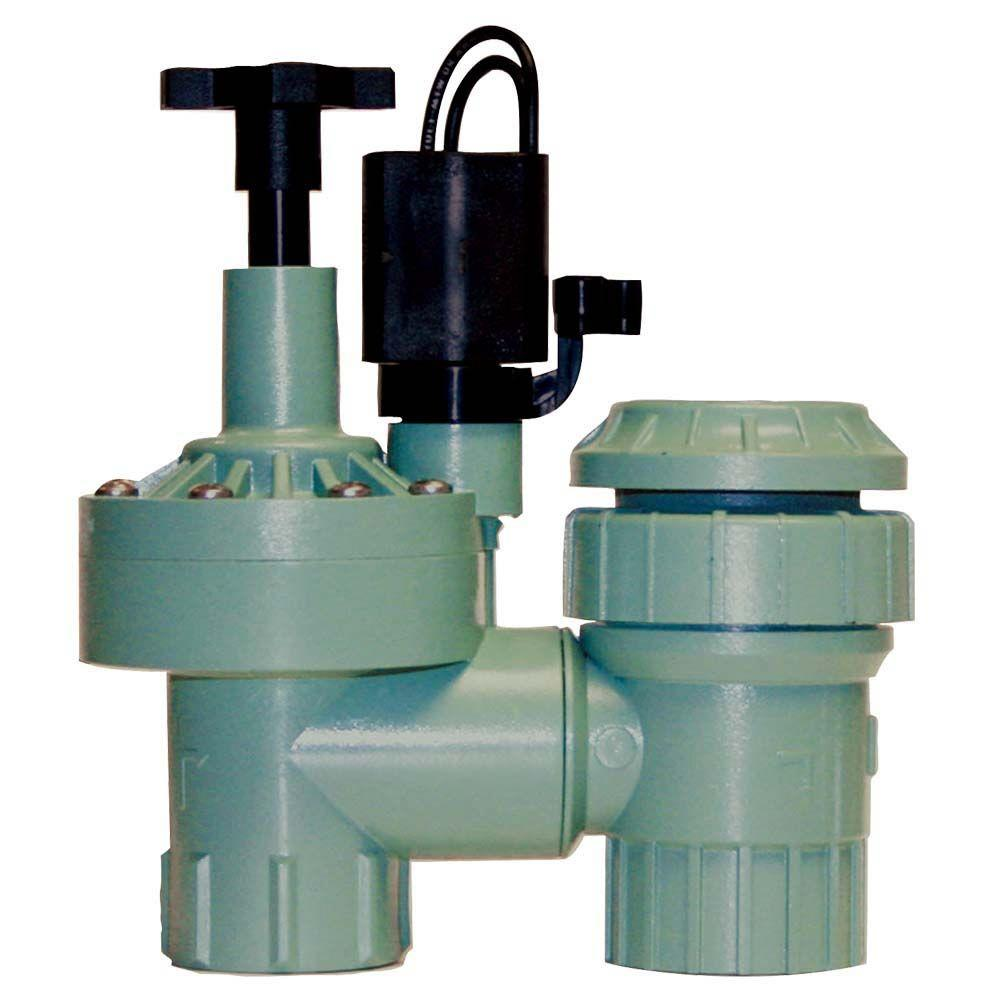 null 3/4 in. Plastic FPT Automatic Anti-Siphon Zone Valve