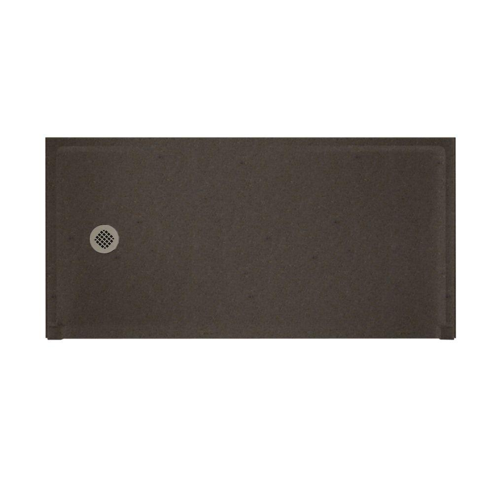 Swanstone Barrier Free 30 in. x 60 in. Single Threshold Shower Floor in Canyon-DISCONTINUED