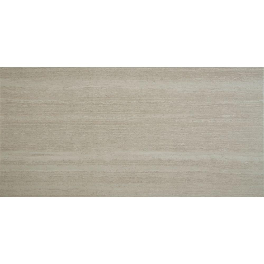 MS International Classico Blanco 12 in. x 24 in. Glazed Porcelain Floor and Wall Tile (16 sq. ft. / case)