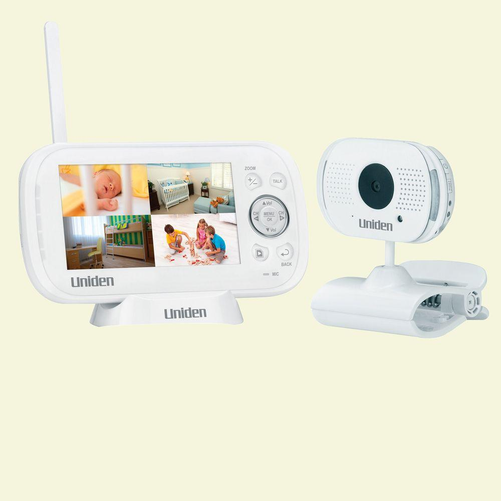 Uniden Wireless 4.3 in. Indoor Baby Monitor with Portable Surveillance Camera-DISCONTINUED