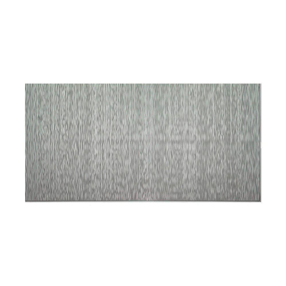 Ripple Vertical 96 in. x 48 in. Decorative Wall Panel in